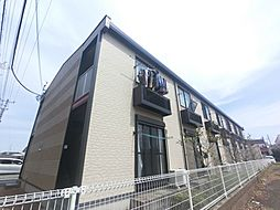 千葉県成田市三里塚光ケ丘の賃貸アパートの外観