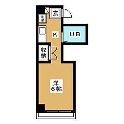 GEM7[2階]の間取り