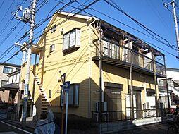 埼玉県さいたま市南区文蔵2の賃貸アパートの外観