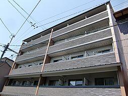 京都府京都市上京区仁和寺街道七本松東入白竹町の賃貸マンションの外観