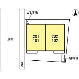 (仮)D-room浮間4[101号室]の外観
