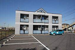 埼玉県幸手市大字上高野の賃貸アパートの外観