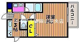 コーディアル中井町[3階]の間取り