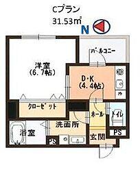 Casa大濠西[8階]の間取り