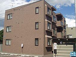 北海道札幌市白石区菊水上町二条3丁目の賃貸マンションの外観