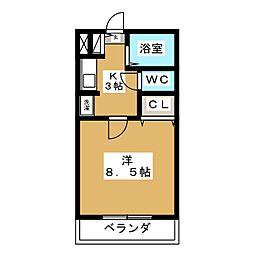 サンライト・12[4階]の間取り