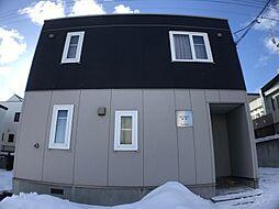 北海道札幌市手稲区富丘四条7丁目の賃貸アパートの外観