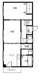 西村ビル[2階]の間取り