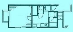 フロストハウス[2階]の間取り