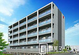 愛知県豊田市浄水町原山の賃貸マンションの外観