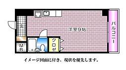椢原ビル--[301号室]の間取り