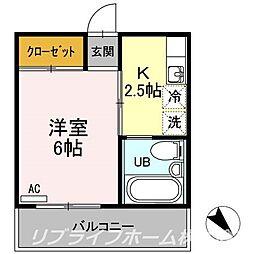 グリーンハイム[2階]の間取り