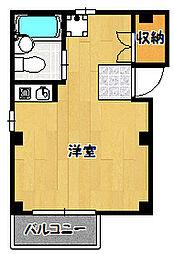兵庫県神戸市兵庫区大開通7丁目の賃貸アパートの間取り