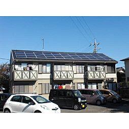 静岡県伊豆の国市中條の賃貸アパートの外観