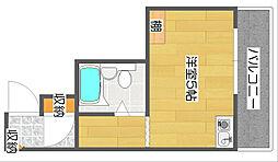 三研BLD.ロイヤル本館[7階]の間取り