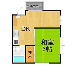 SKマンション[3-A号室]の間取り
