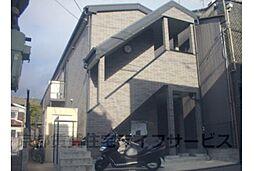 京都府京都市東山区下梅屋町の賃貸アパートの外観