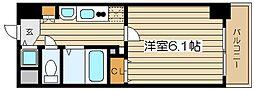 プレサンス梅田北パワーゲート[9階]の間取り