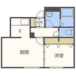 D's square[2階]の間取り