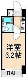 ウィン浅草[303号室]の間取り