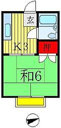 メゾン・ド・ナカヤマ[1階]の間取り