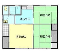 [一戸建] 長野県松本市沢村2丁目 の賃貸【/】の間取り