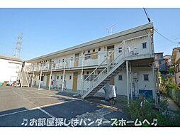 大阪府枚方市津田元町2丁目の賃貸アパートの外観