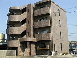 愛知県みよし市三好町植ノ畑の賃貸マンションの外観