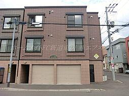 北海道札幌市東区北三十三条東17丁目の賃貸アパートの外観