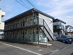 長野県上田市踏入2丁目の賃貸アパートの外観