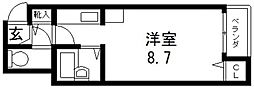 CTビュー小阪[510号室号室]の間取り