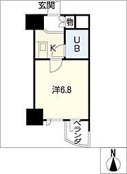 ライオンズマンション丸の内第5408号室[4階]の間取り