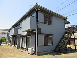 飯草ハイツA[2階]の外観