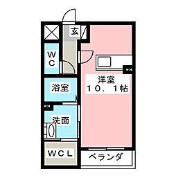 仮)プリミエール松降[2階]の間取り