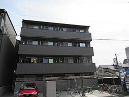 京都府京都市左京区田中大久保町の賃貸マンションの外観