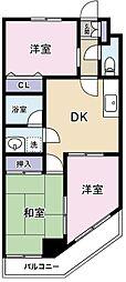 パークハイム渋谷[01003号室]の間取り