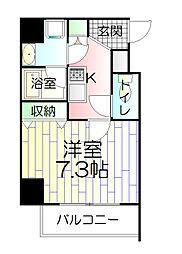 ベルグレードSK DUE[5階]の間取り