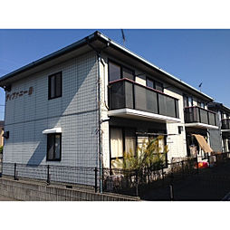 岡山県総社市福井の賃貸アパートの外観
