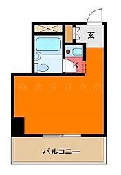 グレイス南太田[5階]の間取り