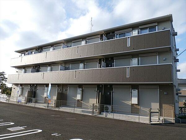 PARK HILLS MIYAKO[1階]の外観