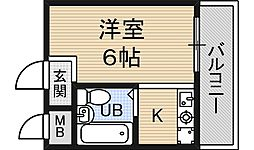 グリーンハイツ2[2階]の間取り