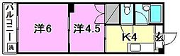 230セゾン素鵞[103 号室号室]の間取り
