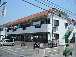 埼玉県川口市安行領根岸の賃貸アパートの外観