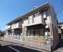 京都府京都市西京区大枝中山町の賃貸アパートの外観
