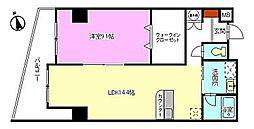 ルミエール幟[604号室]の間取り