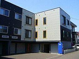 アナーズコテージA棟・B棟[2階]の外観