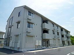 滋賀県草津市野村4丁目の賃貸アパートの外観