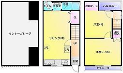 [一戸建] 大阪府八尾市亀井町4丁目 の賃貸【/】の間取り