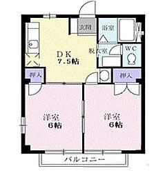 ドリームII[2階]の間取り