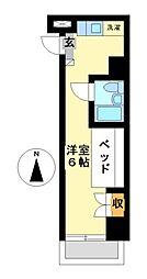 ドーム桜山[3階]の間取り